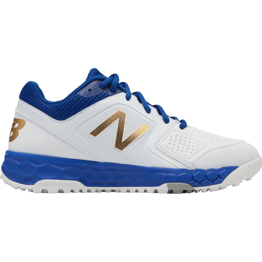 ニューバランス New Balance レディース 野球 スパイク シューズ・靴【Fresh Foam Velo 1 Turf Softball Cleats】White/Royal