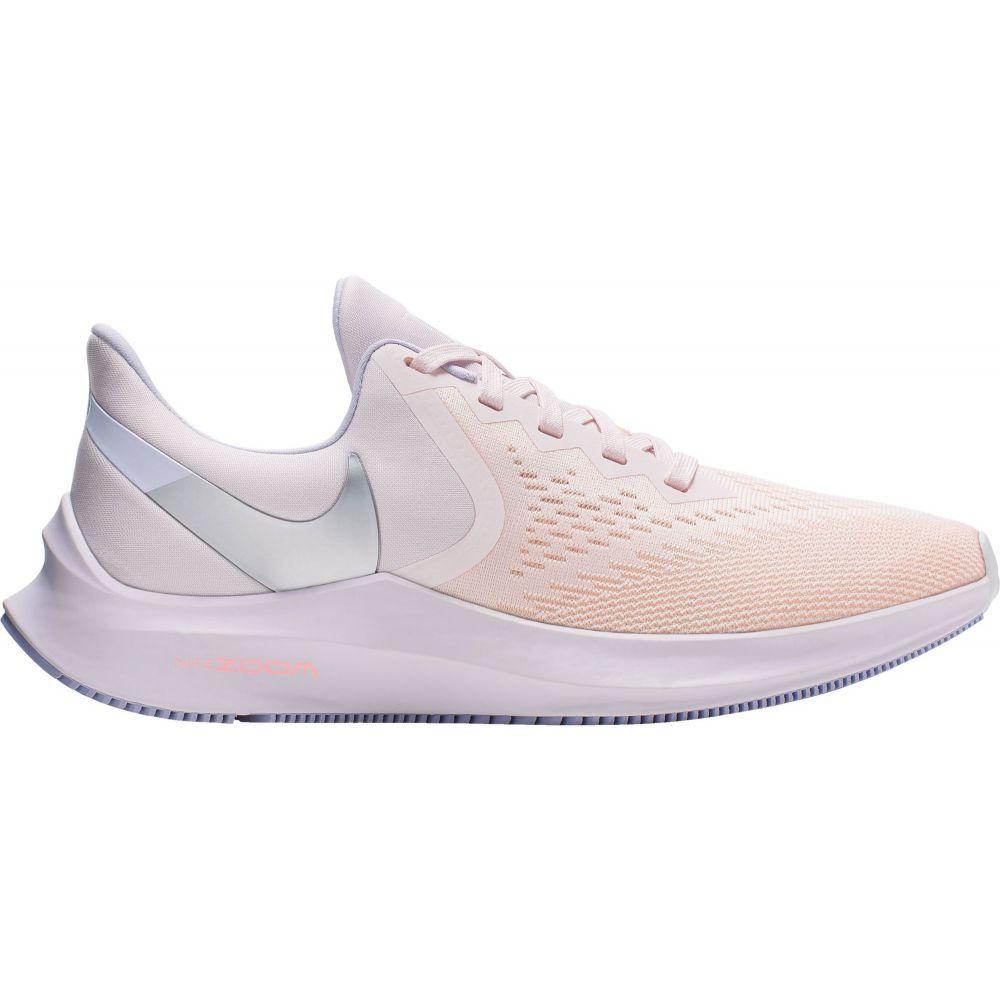 ナイキ Nike レディース ランニング・ウォーキング シューズ・靴【Zoom Winflo 6 Running Shoes】Light Pink/White