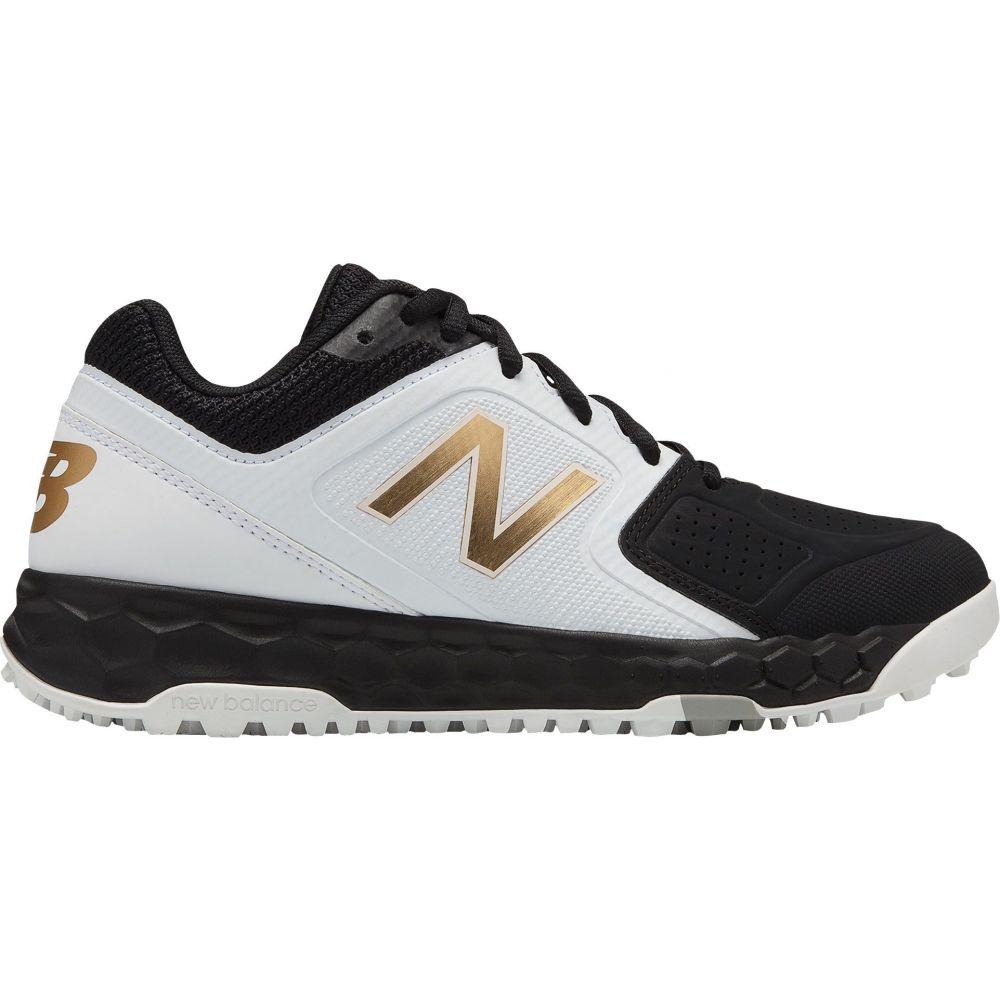 ニューバランス New Balance レディース 野球 スパイク シューズ・靴【Fresh Foam Velo 1 Turf Softball Cleats】Black/White