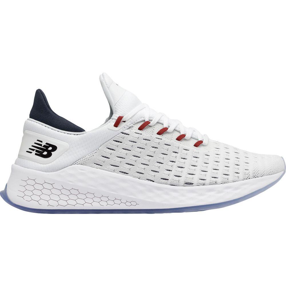 ニューバランス New Balance メンズ ランニング・ウォーキング シューズ・靴【Fresh Foam LazrV2 HypoKnit Running Shoes】White/Red/Black