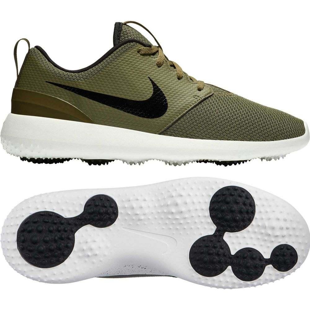 ナイキ Nike メンズ ゴルフ シューズ・靴【Roshe G Golf Shoes】Olive/黒/Summit 白い