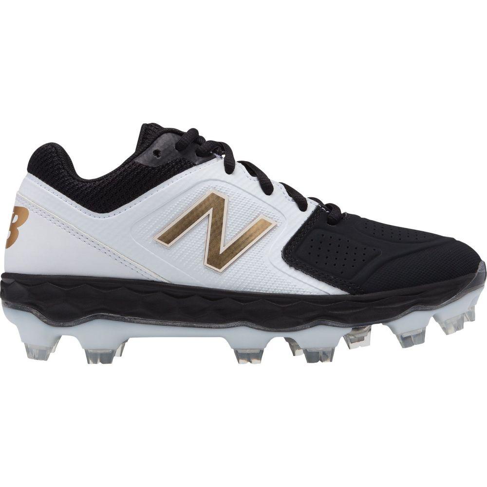 ニューバランス New Balance レディース 野球 スパイク シューズ・靴【Fresh Foam Velo 1 Softball Cleats】Black/Gold