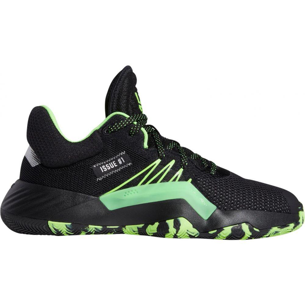 アディダス adidas メンズ バスケットボール シューズ・靴【D.O.N. Issue #1 Basketball Shoes】Black/Silver/Green