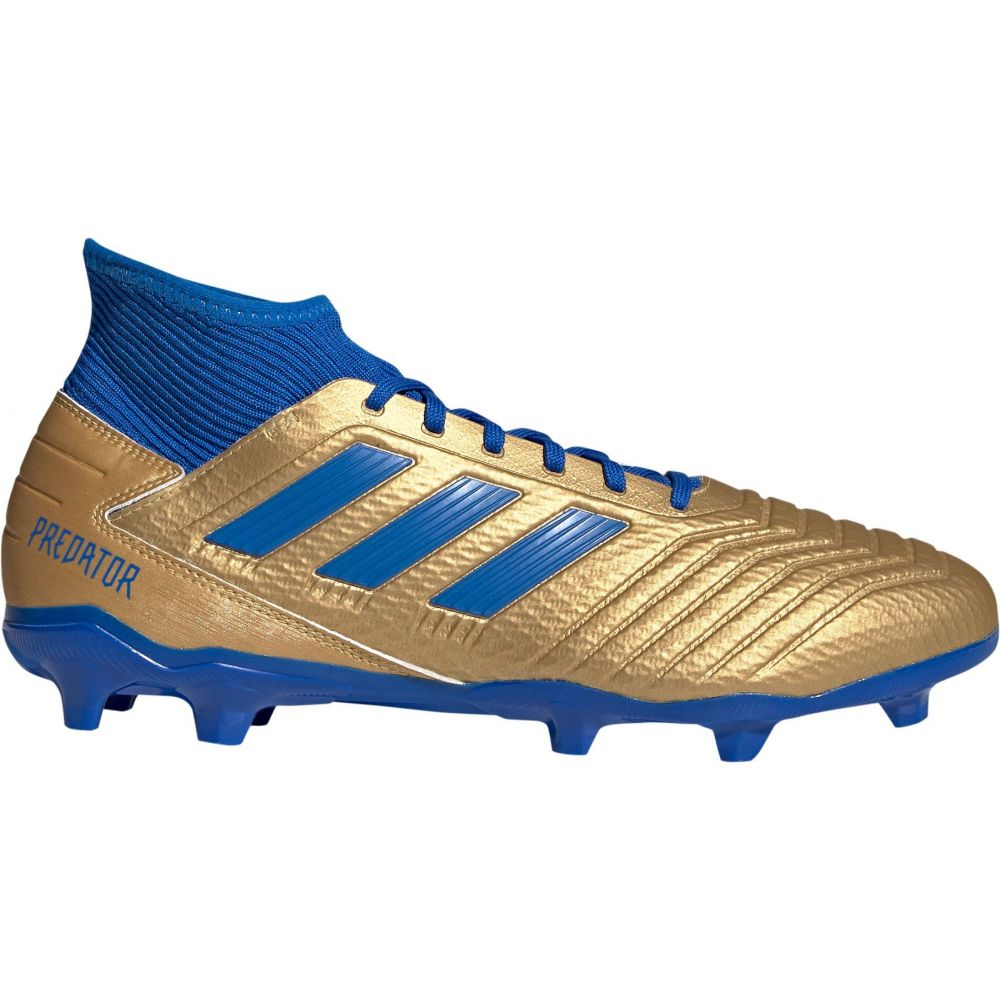 アディダス adidas メンズ サッカー スパイク シューズ・靴【Predator 19.3 FG Soccer Cleats】Gold/Blue