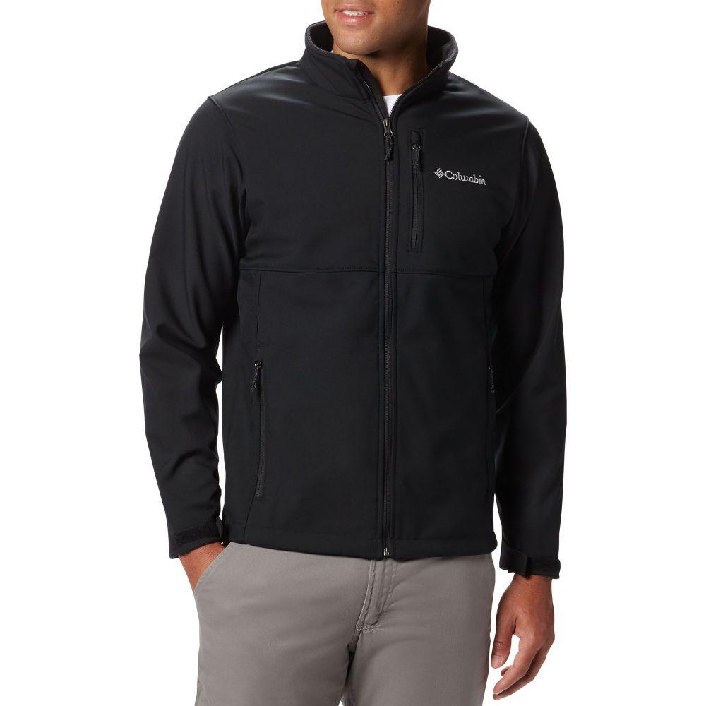 コロンビア Columbia メンズ ジャケット ソフトシェルジャケット アウター【Ascender Soft Shell Jacket】Black