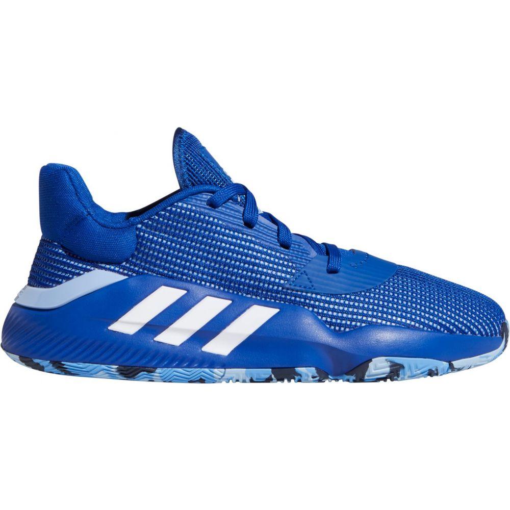 アディダス adidas メンズ バスケットボール シューズ・靴【Pro Bounce 19 Low Basketball Shoes】Royal Blue/White