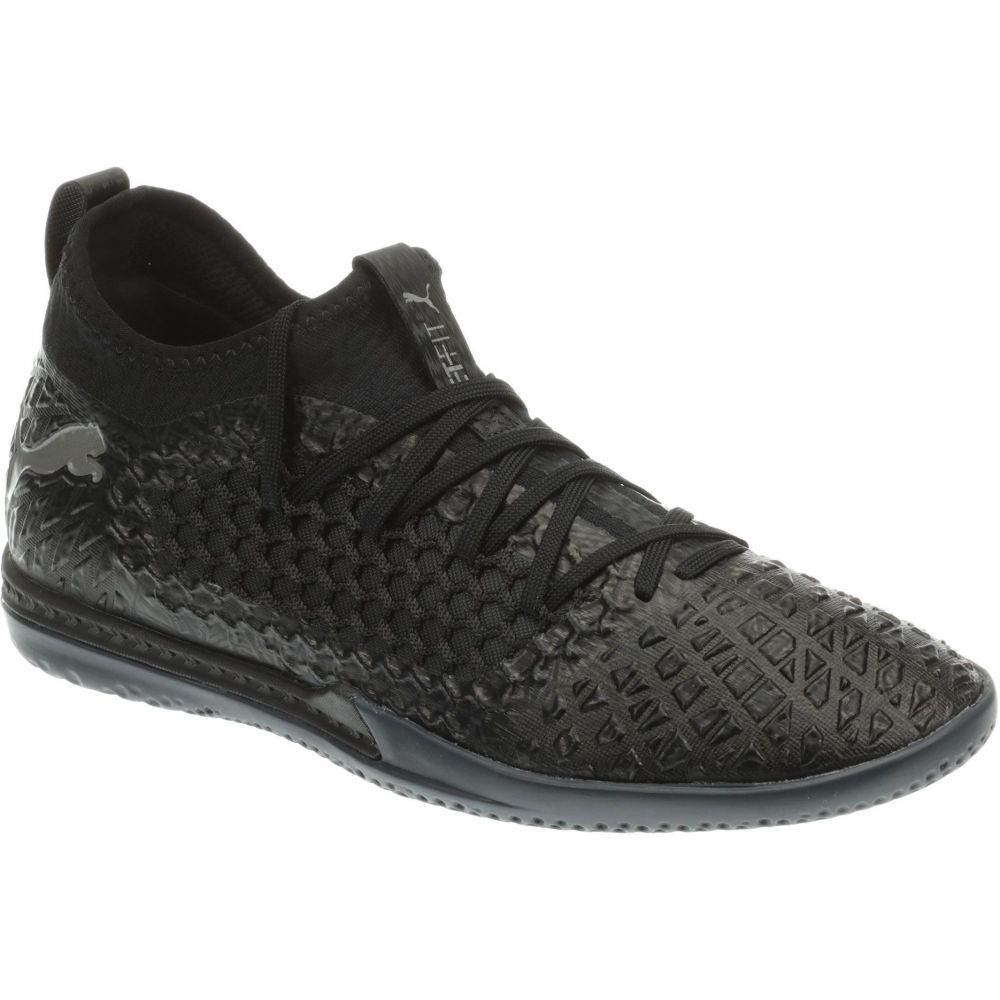 プーマ PUMA メンズ サッカー シューズ・靴【Future 4.3 Netfit Indoor Soccer Shoes】Black/Black