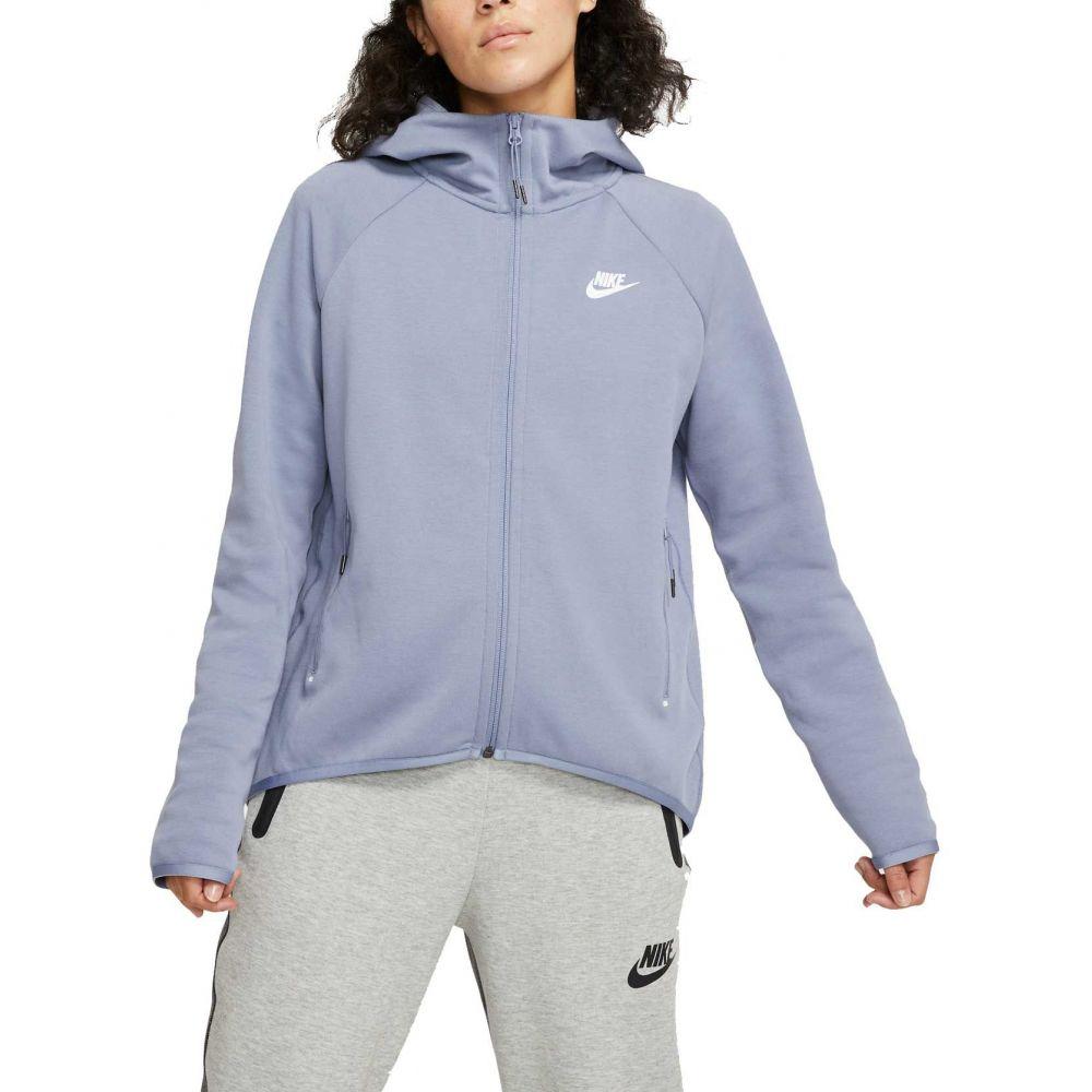 ナイキ Nike レディース フリース トップス【Sportswear Tech Fleece Cape Jacket】Stellar Indigo