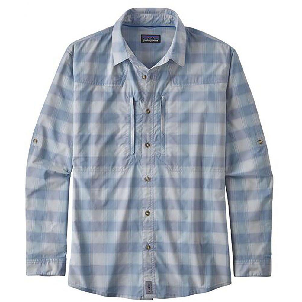 パタゴニア Patagonia メンズ シャツ トップス【Sun Stretch Long Sleeve Button Down Shirt】Haven/Ghost Purple