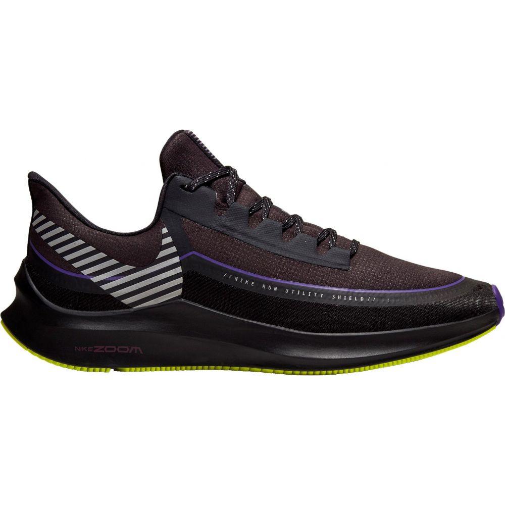 ナイキ Nike メンズ ランニング・ウォーキング シューズ・靴【Air Zoom Winflo 6 Shield Running Shoes】Black/Purple