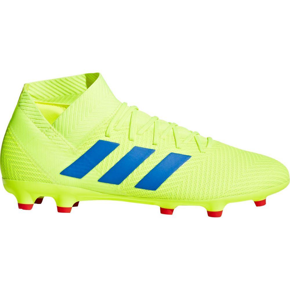 アディダス adidas メンズ サッカー スパイク シューズ・靴【Nemeziz 18.3 FG Soccer Cleats】Yellow/Blue