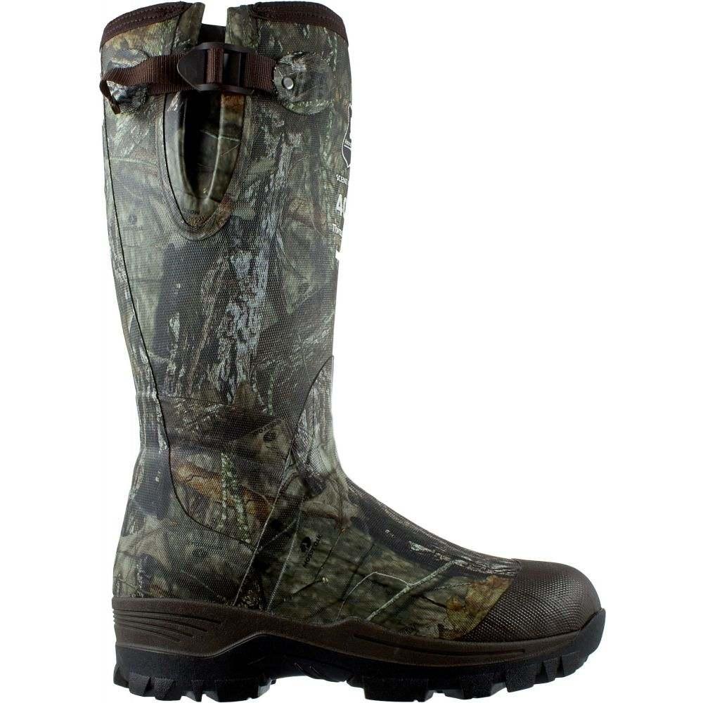 フィールドアンドストリーム Field & Stream メンズ ブーツ シューズ・靴【Swamptracker Mossy Oak 400g Rubber Hunting Boots】Mossy Oak Brk Up Country
