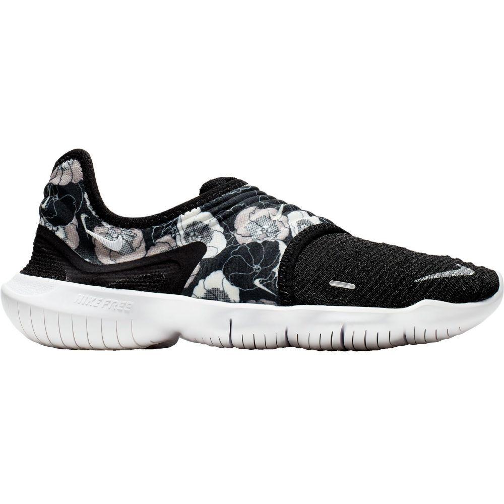 ナイキ Nike レディース ランニング・ウォーキング シューズ・靴【Free RN Flyknit 3.0 Running Shoes】Black/Floral