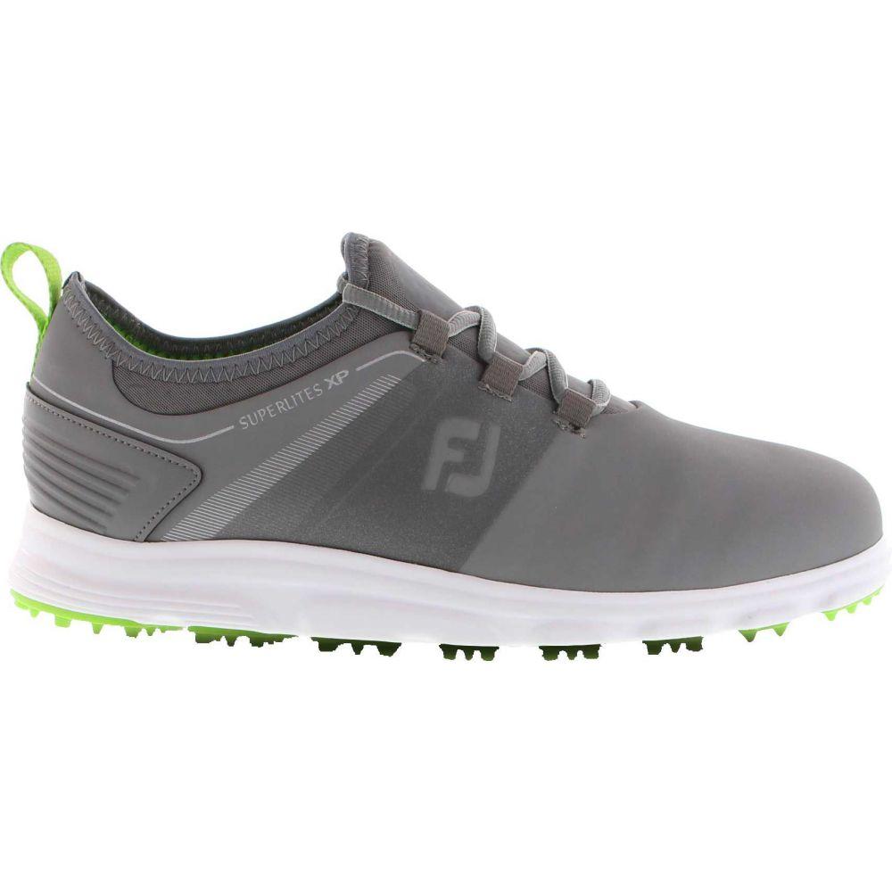 フットジョイ FootJoy メンズ ゴルフ シューズ・靴【2019 SuperLites XP Golf Shoes】Grey/Green