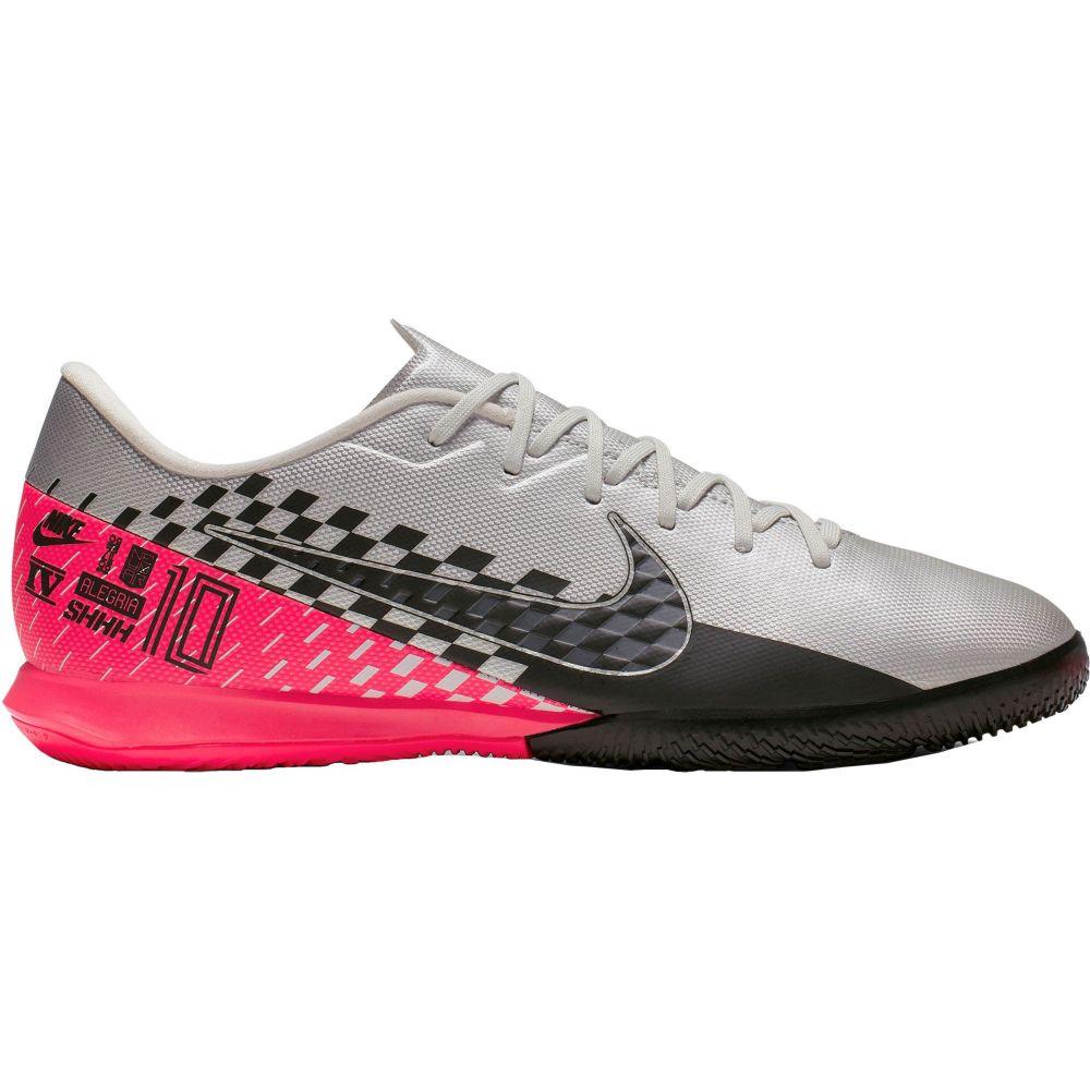 ナイキ Nike メンズ サッカー シューズ・靴【Mercurial Vapor 13 Academy Neymar Jr. Indoor Soccer Shoes】Silver/Black