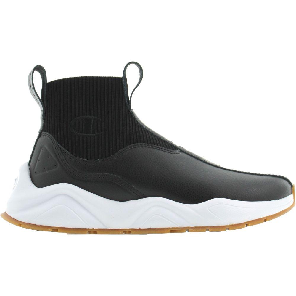 チャンピオン Champion レディース スニーカー シューズ・靴【Rally Leather Shoes】Black/White