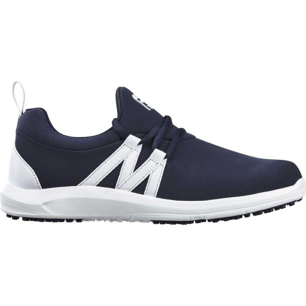 フットジョイ FootJoy レディース ゴルフ スリッポン シューズ・靴【Leisure Slip-On Golf Shoes】Navy/White