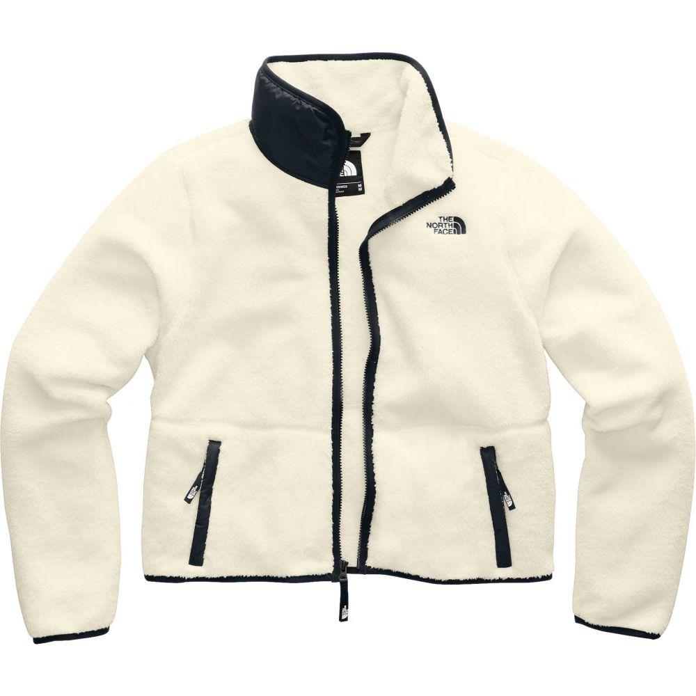 ザ ノースフェイス The North Face レディース フリース トップス【Dunraven Sherpa Jacket】Vintage White