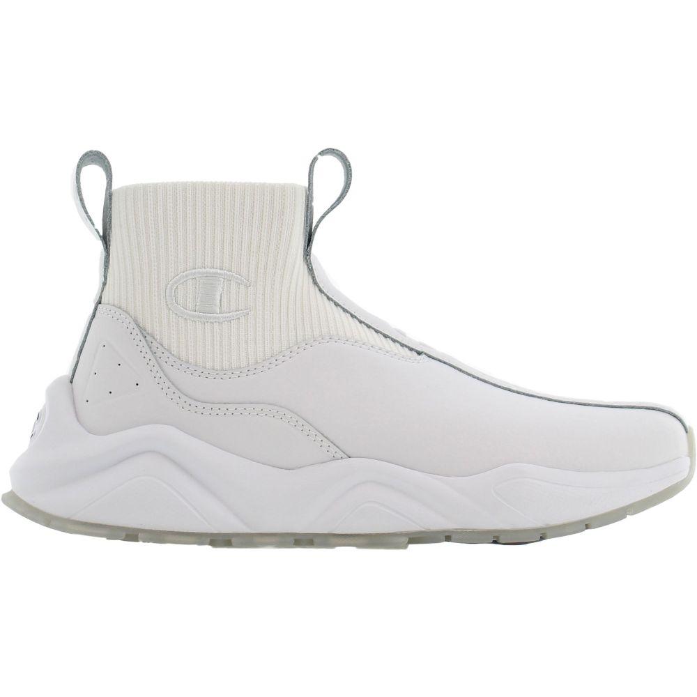 チャンピオン Champion レディース スニーカー シューズ・靴【Rally Leather Shoes】White/White