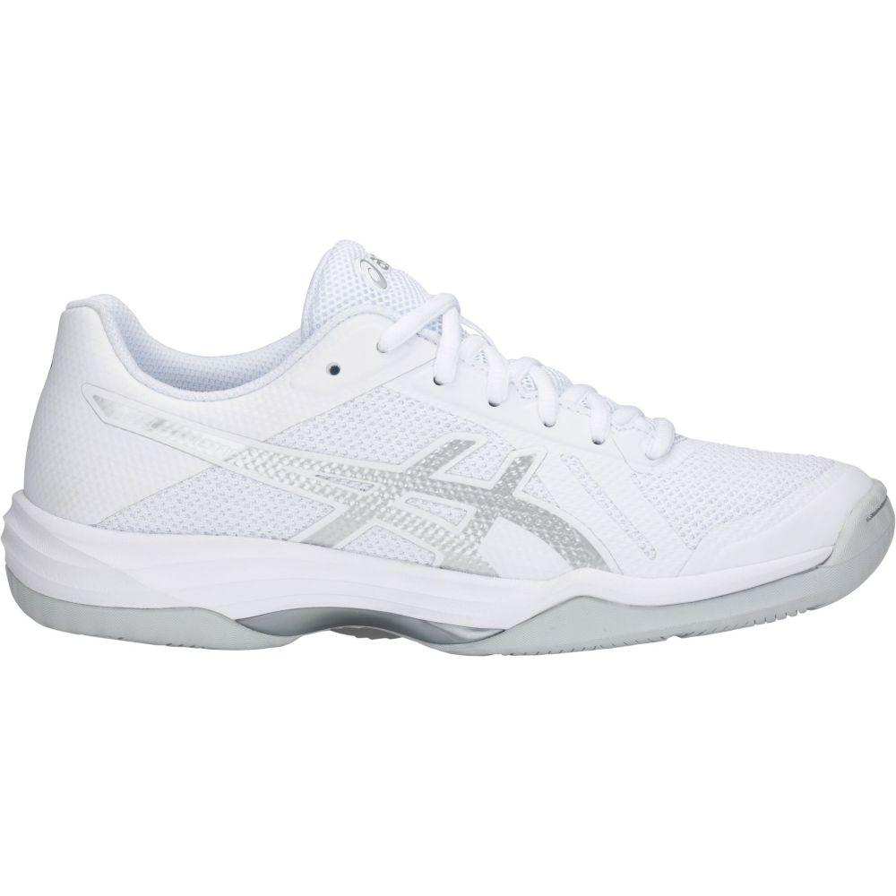 アシックス ASICS レディース バレーボール シューズ・靴【Gel-Tactic 2 Volleyball Shoes】White/Silver