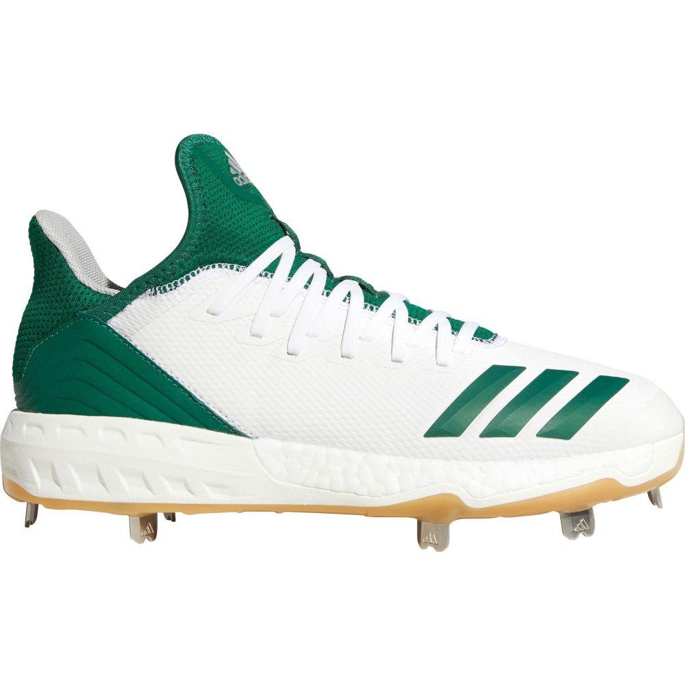 アディダス adidas メンズ 野球 スパイク シューズ・靴【Icon 4 Gum Metal Baseball Cleats】White/Green