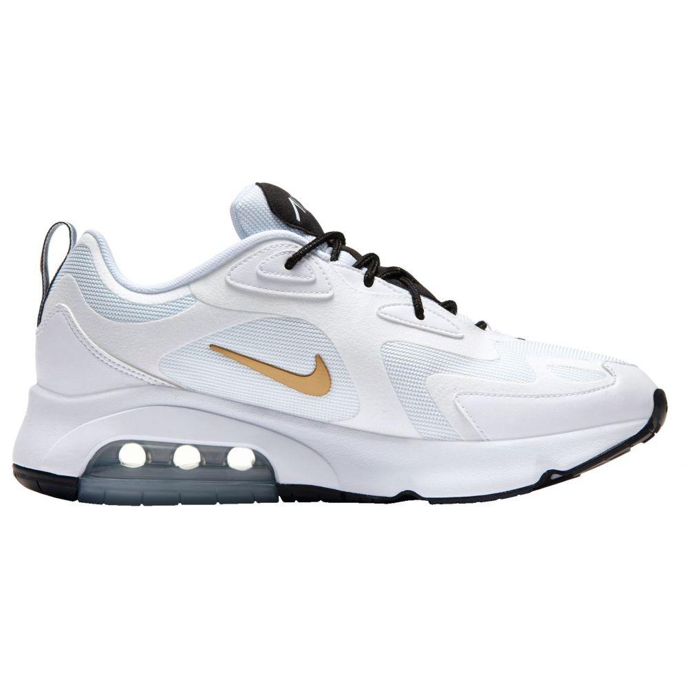 ナイキ Nike メンズ シューズ・靴 【Air Max 200 Shoes】White/Gold/Black