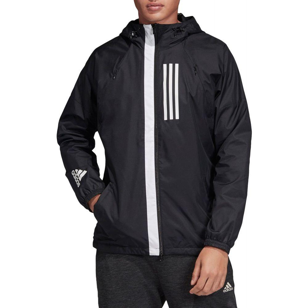 アディダス adidas メンズ ジャケット アウター【Athletics W.N.D. Jacket】Black