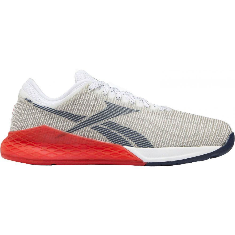 リーボック Reebok メンズ フィットネス・トレーニング シューズ・靴【Nano 9 Training Shoes】White/Red/Navy