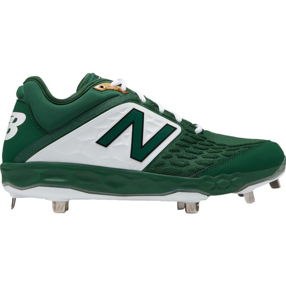 ニューバランス New Balance メンズ 野球 スパイク シューズ・靴【3000 V4 Metal Baseball Cleats】Green/White