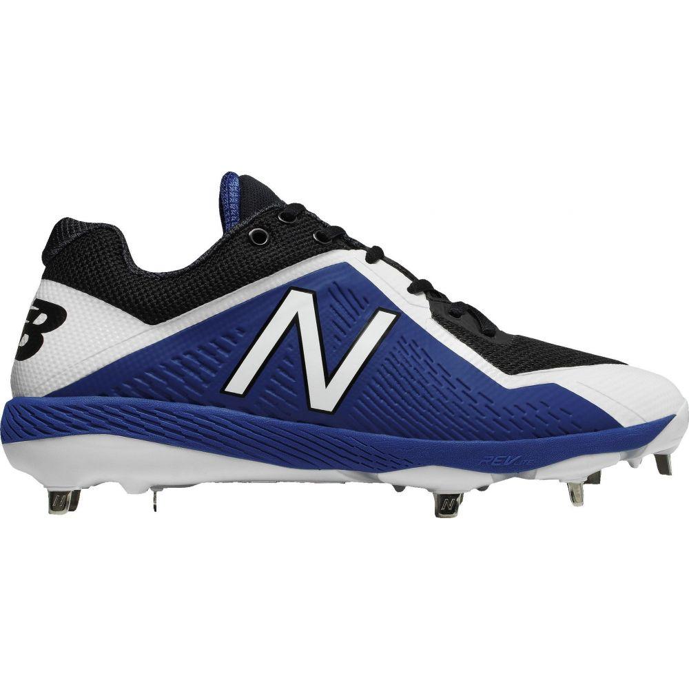 ニューバランス New Balance メンズ 野球 スパイク シューズ・靴【4040 V4 Metal Baseball Cleats】Blue/Black