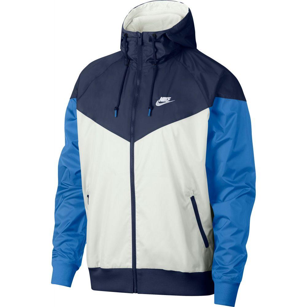 ナイキ Nike メンズ ジャケット フード アウター【Sportswear 2019 Hooded Windrunner Jacket】Summit Wte/Mdnght Nvy/Wte