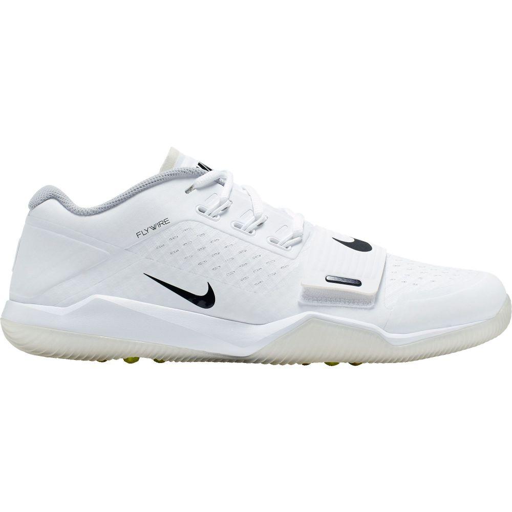 ナイキ Nike メンズ アメリカンフットボール シューズ・靴【Alpha Menace Turf Football Trainer】White/Black