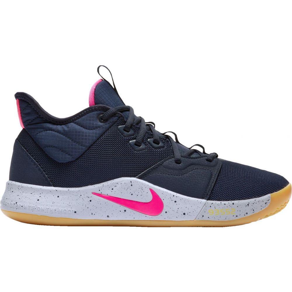 ナイキ Nike メンズ バスケットボール シューズ・靴【PG3 Basketball Shoes】Obsidian/Pink