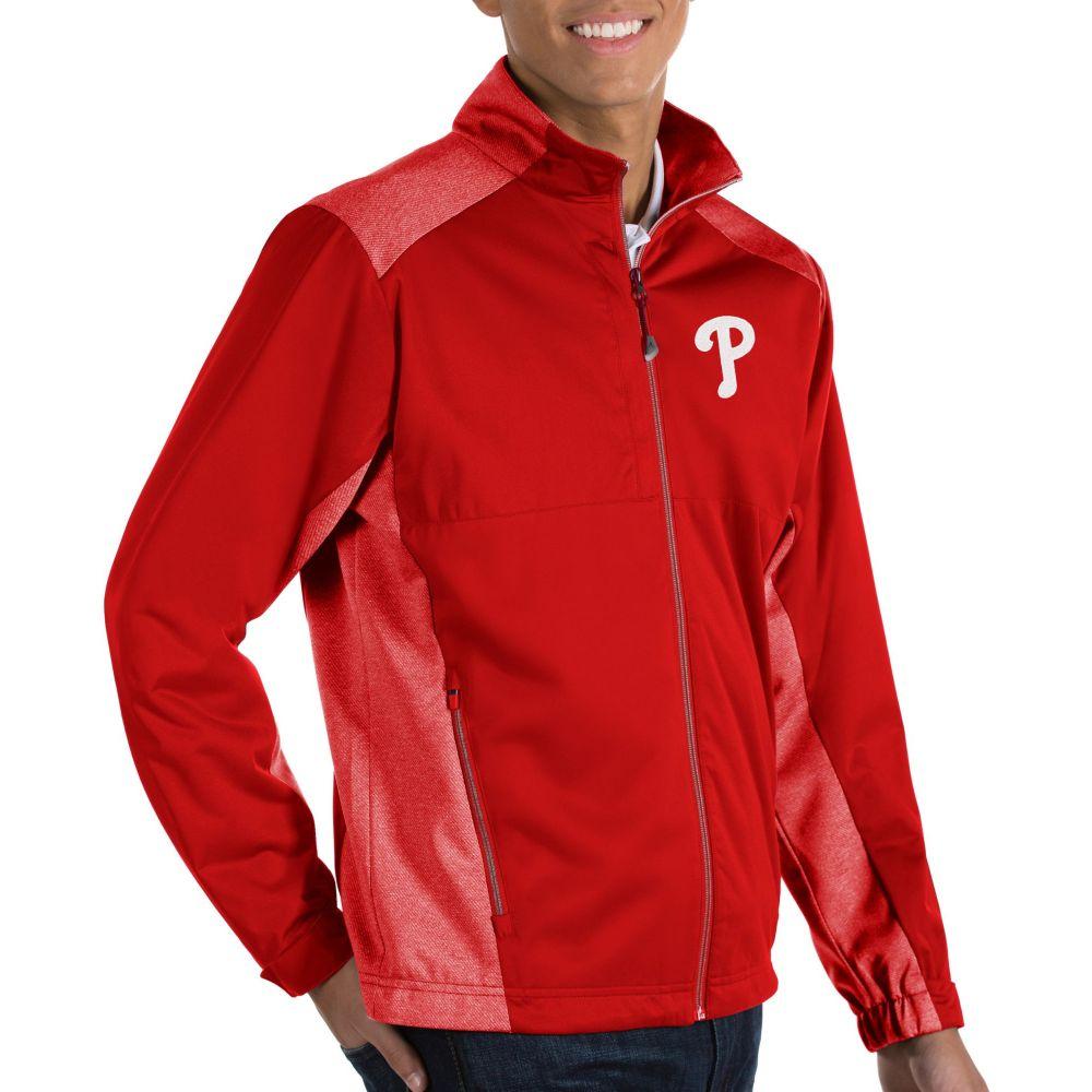 アンティグア Antigua メンズ ジャケット アウター【Philadelphia Phillies Revolve Full-Zip Jacket】
