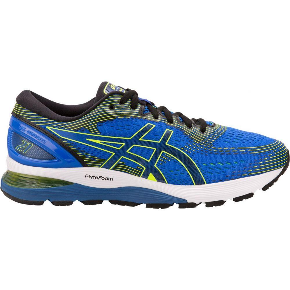 アシックス ASICS メンズ ランニング・ウォーキング シューズ・靴【Gel-Nimbus 21 Running Shoes】Blue/Black