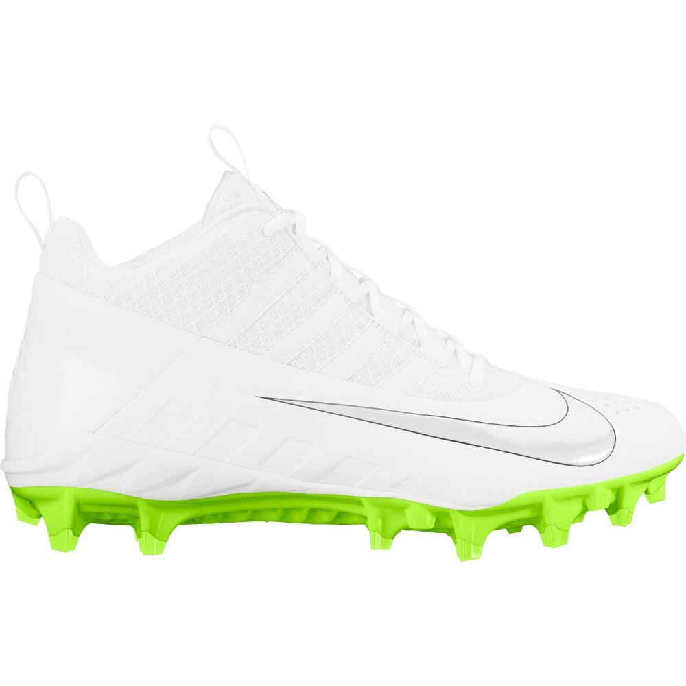 ナイキ Nike メンズ ラクロス スパイク シューズ・靴【Alpha Huarache 6 Pro Lacrosse Cleats】White/Volt