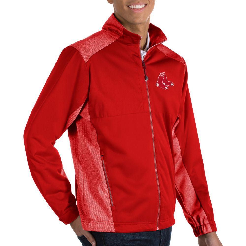 アンティグア Antigua メンズ ジャケット アウター【Boston Red Sox Revolve Full-Zip Jacket】