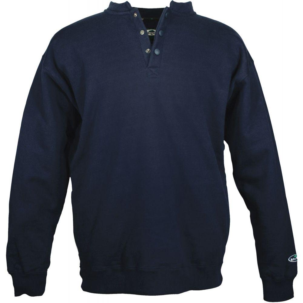 アーバーウェア Arborwear メンズ スウェット・トレーナー トップス【Double Thick Crew Sweatshirt (Regular and Big & Tall)】Navy