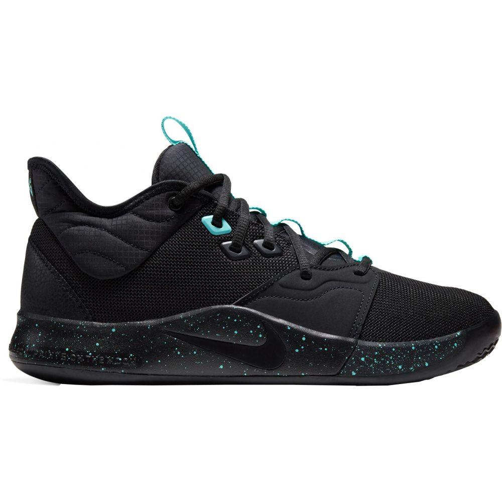 ナイキ Nike メンズ バスケットボール シューズ・靴【PG3 Basketball Shoes】Blk/Blk/Lt Aqua