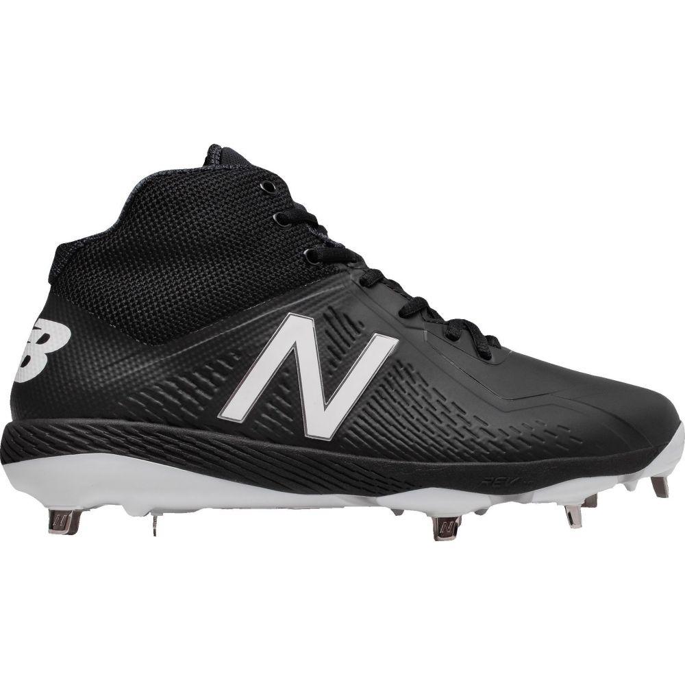 ニューバランス New Balance メンズ 野球 スパイク シューズ・靴【4040 V4 Mid Metal Synthetic Baseball Cleats】Black/Black