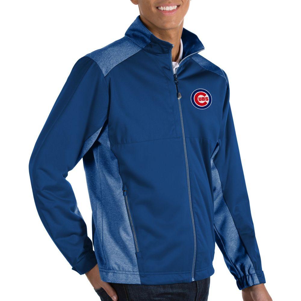 アンティグア Antigua メンズ ジャケット アウター【Chicago Cubs Revolve Full-Zip Jacket】