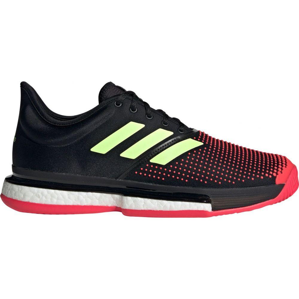 アディダス メンズ テニス シューズ・靴 【サイズ交換無料】 アディダス adidas メンズ テニス シューズ・靴【SoleCourt Boost Tennis Shoes】Black/Yellow/Red