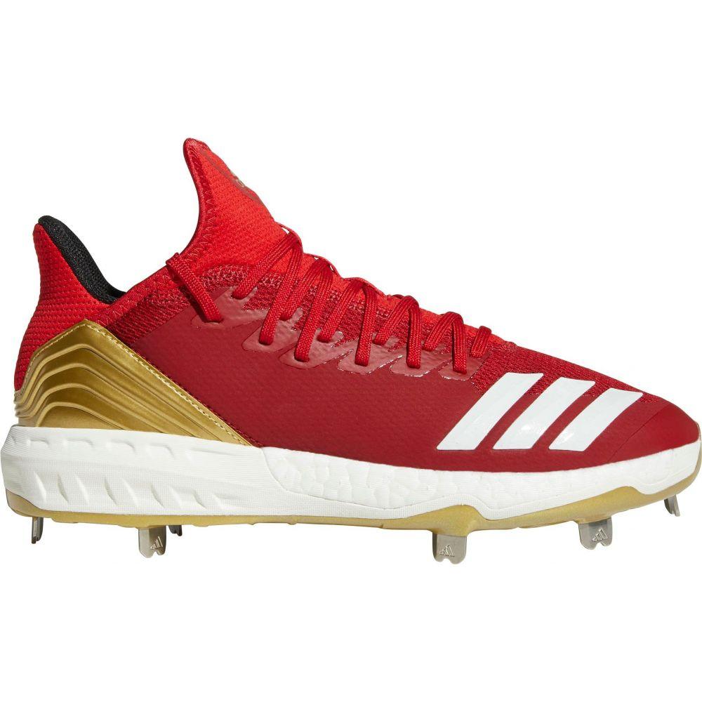 アディダス adidas メンズ 野球 スパイク シューズ・靴【Icon 4 Metal Baseball Cleats】Red/Gold