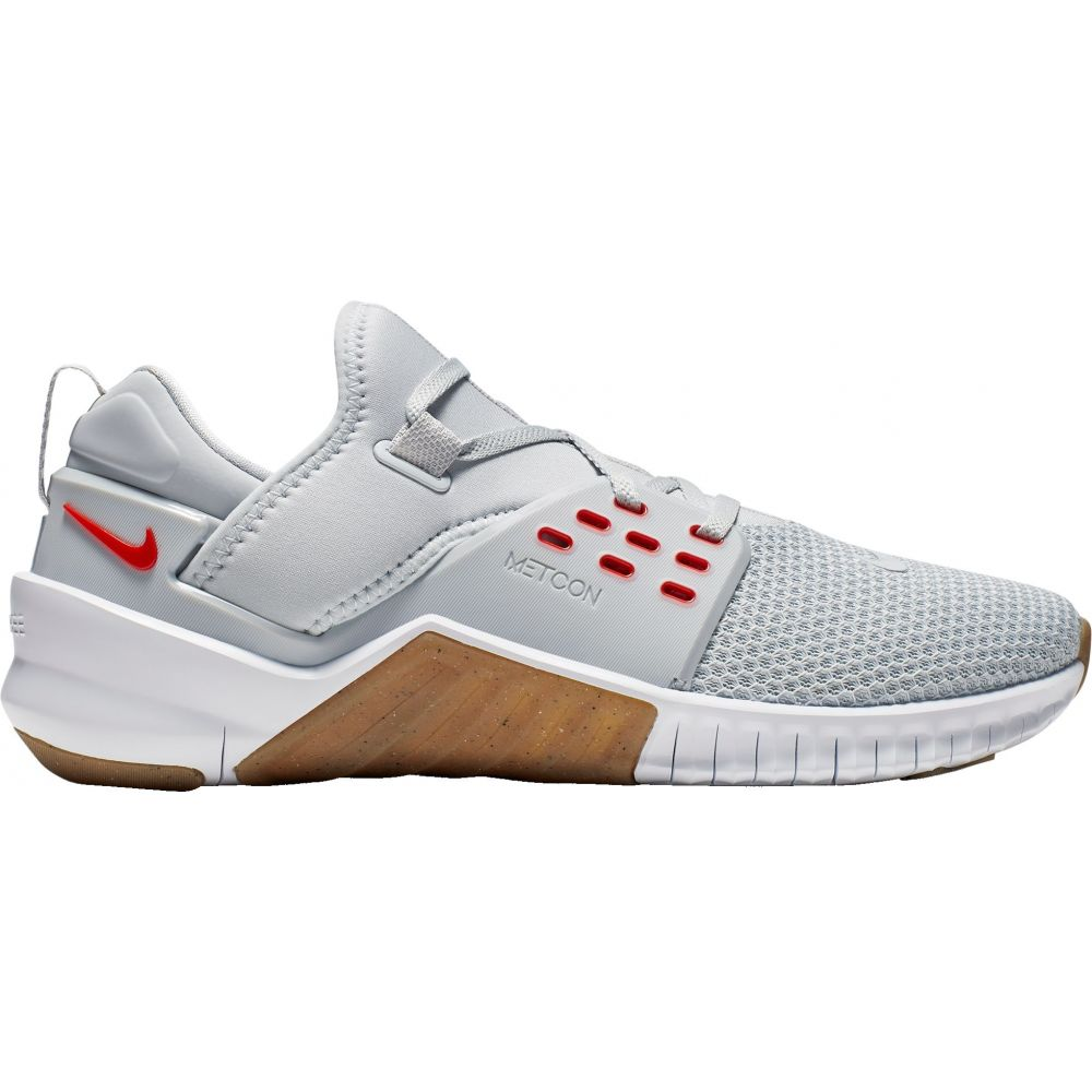 ナイキ Nike メンズ フィットネス・トレーニング シューズ・靴【Free X Metcon 2 Training Shoes】Platinum/Red