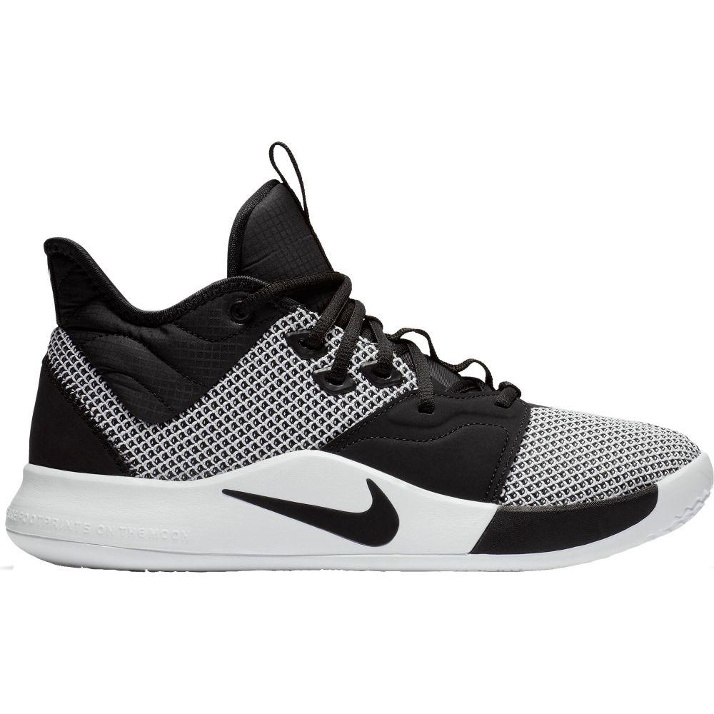 ナイキ Nike メンズ バスケットボール シューズ・靴【PG3 Basketball Shoes】Black/White