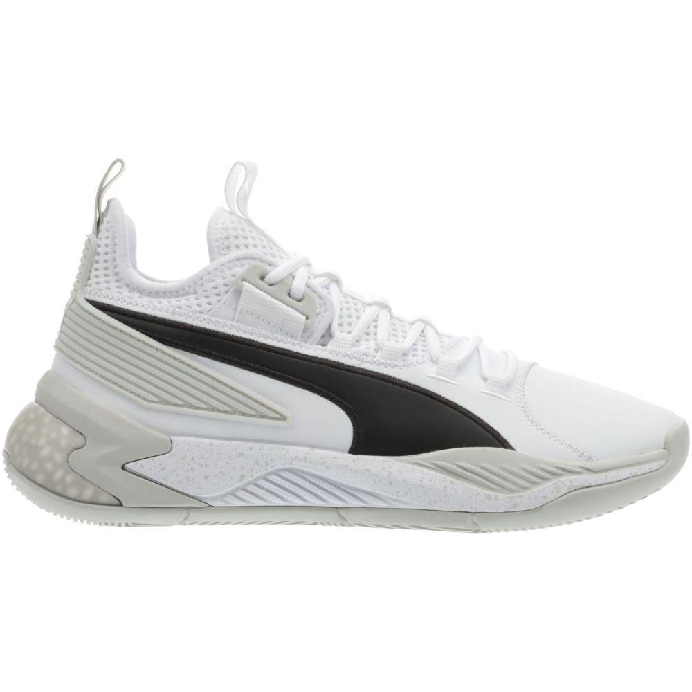 プーマ PUMA メンズ バスケットボール シューズ・靴【Uproar Hybrid Court Basketball Shoes】White/Glacier Gray