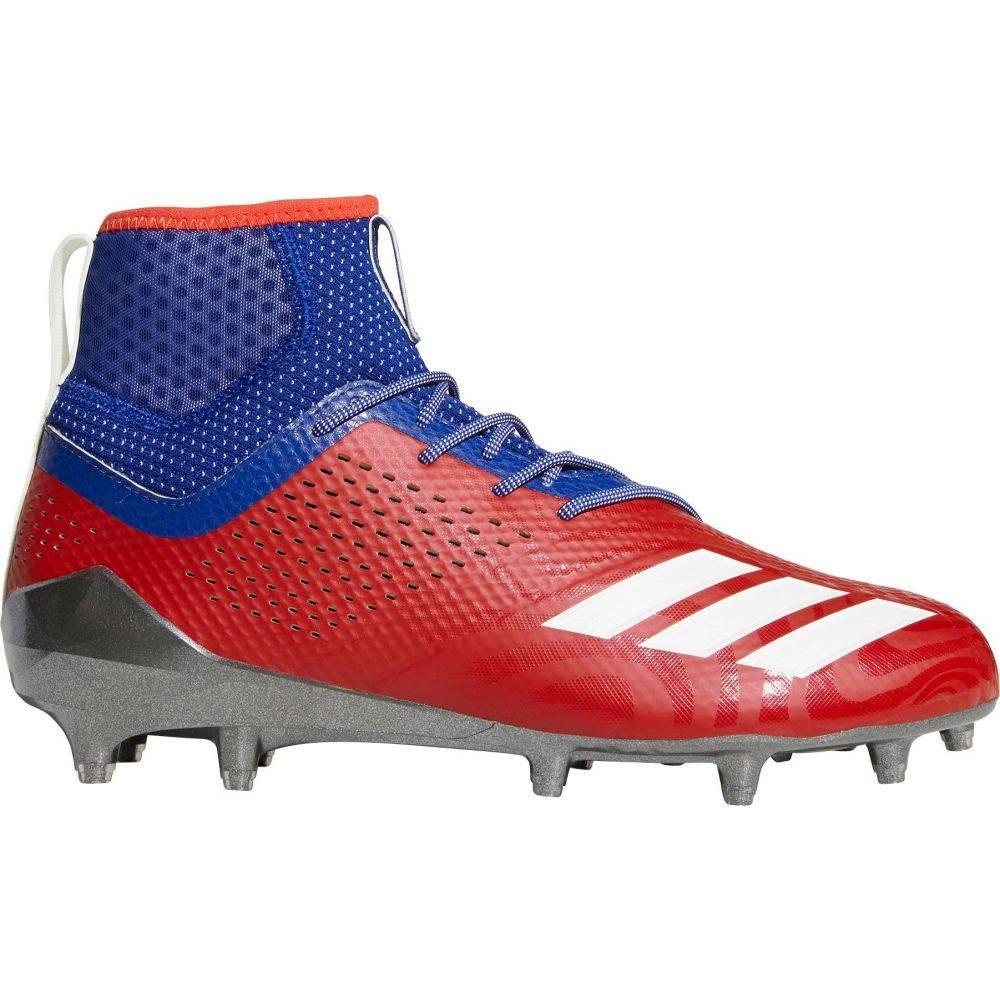 アディダス adidas メンズ ラクロス スパイク シューズ・靴【adiZERO 5-Star 7.0 Hotbed Philadelphia Mid Lacrosse Cleats】Red/White