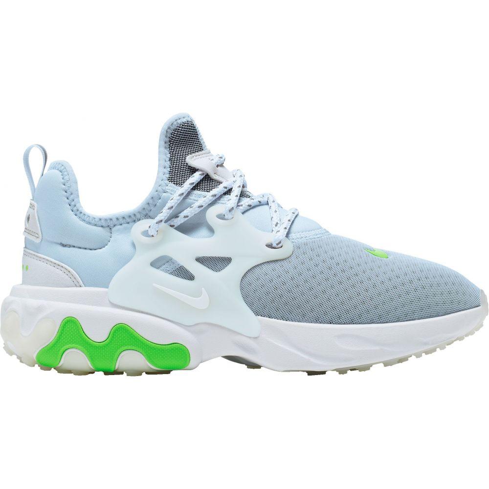 ナイキ Nike レディース スニーカー シューズ・靴【Presto React Shoes】Blue/White/Green