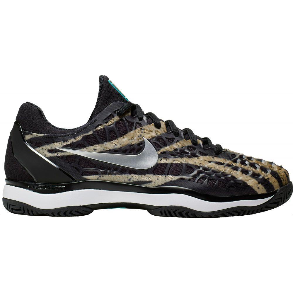 ナイキ Nike メンズ テニス シューズ・靴【Zoom Cage 3 Tennis Shoes】Black/Purple