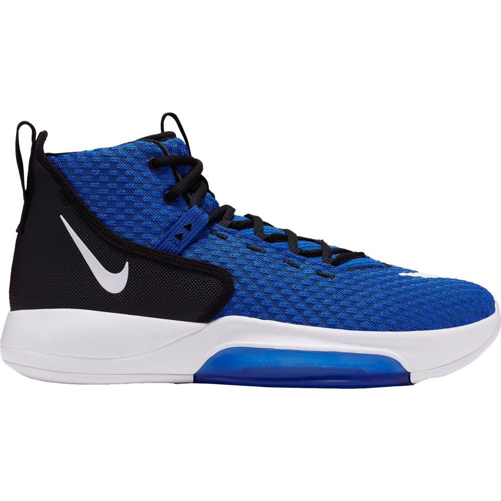ナイキ Nike メンズ バスケットボール シューズ・靴【Zoom Rize Basketball Shoes】Game Royal/White/Black